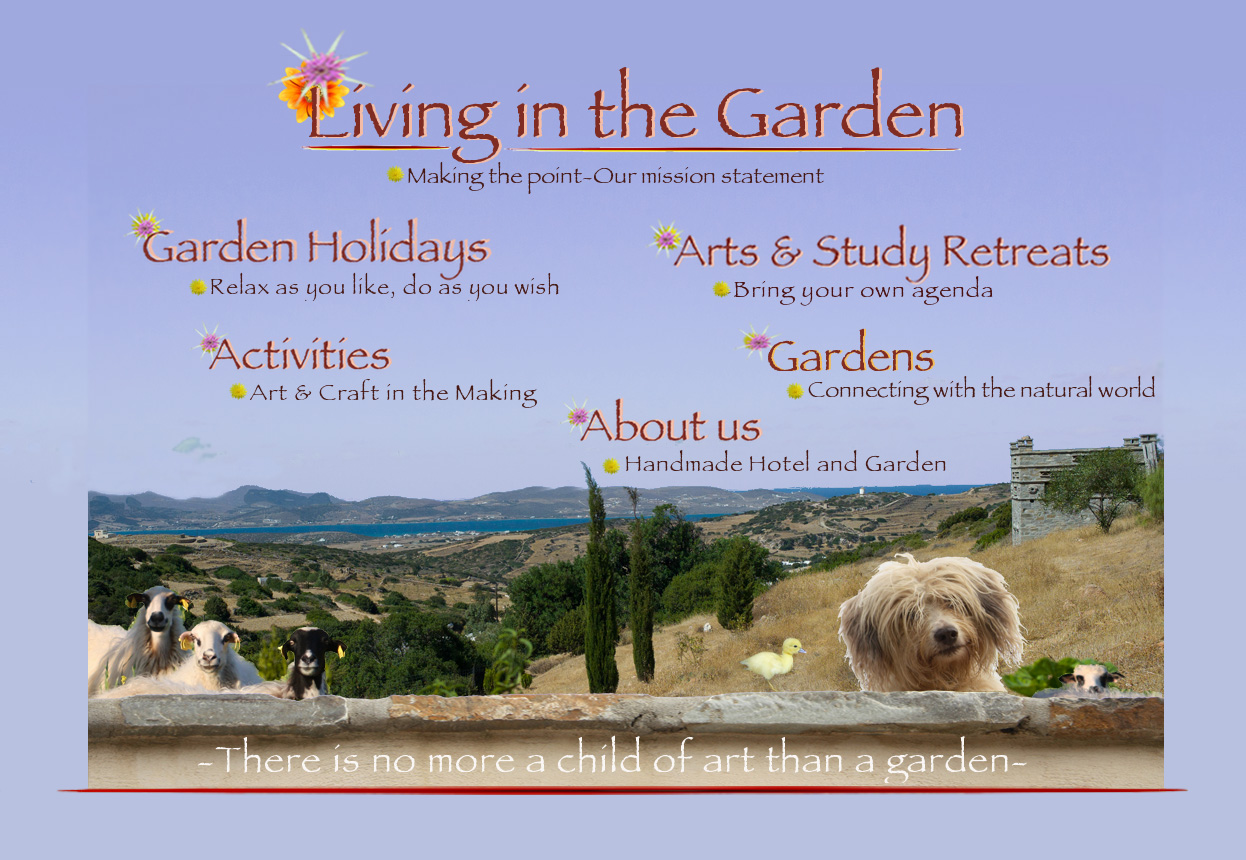 Living in the Garden Homepage